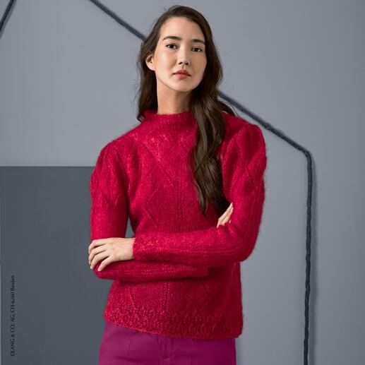 Anleitung 284/8, Pullover aus Mohair Luxe von LANG Yarns