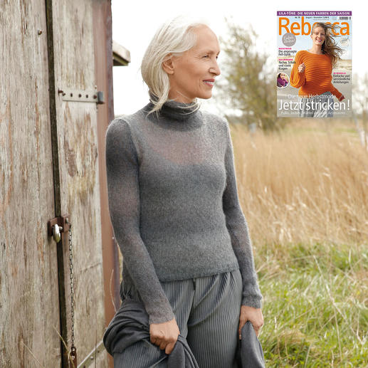 Anleitung 387/8, Pullover aus Moa von ggh, Modell aus Rebecca Heft Nr. 75