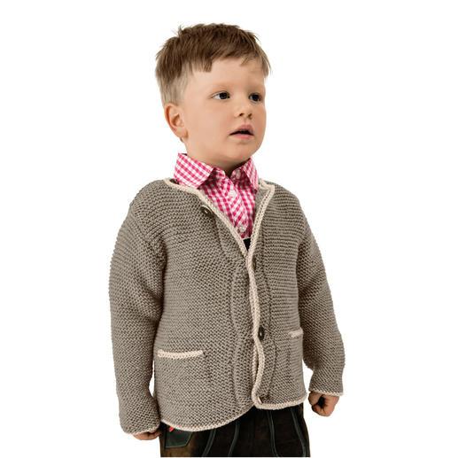 Anleitung 403/8, Kinderjanker aus Essentials Soft Merino Aran von Rico Design
