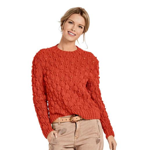 Anleitung 132/9, Pullover aus Melina von Junghans-Wolle