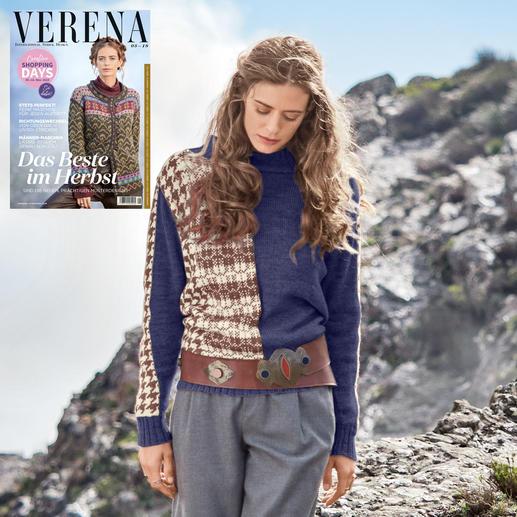 Anleitung 160/9, Pullover aus Merino-Supersoft von Junghans-Wolle