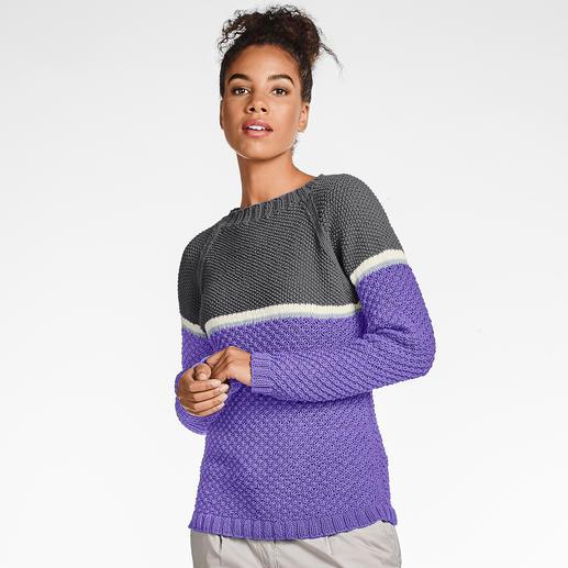 Anleitung 187/9, Pullover aus Merino-Cotton von Junghans-Wolle
