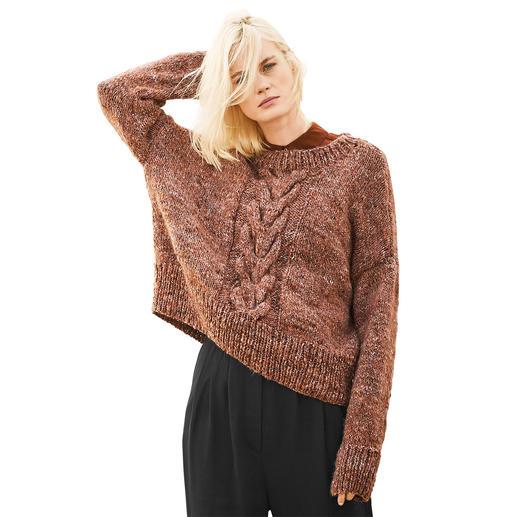 Anleitung 299/9, Pullover aus Fashion Alpaca Tweed Chunky von Rico Design