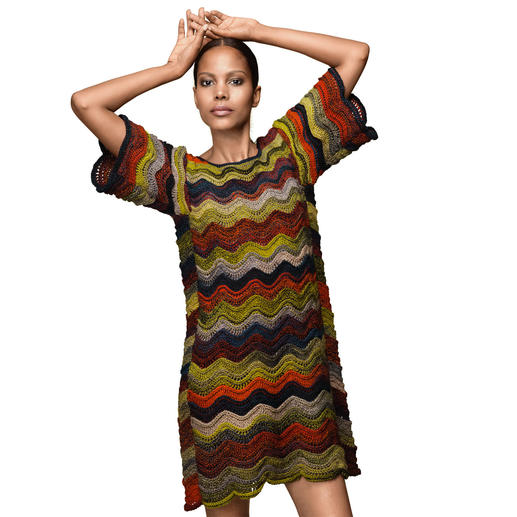 Anleitung 302/9, Kleid aus Zauberball® Stärke 6 von Schoppel Wolle