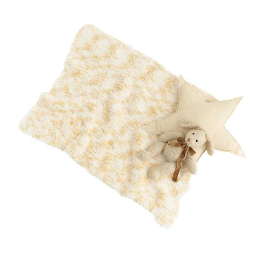 Anleitung 325/9, Babydecke aus Polar Animal Print von Katia