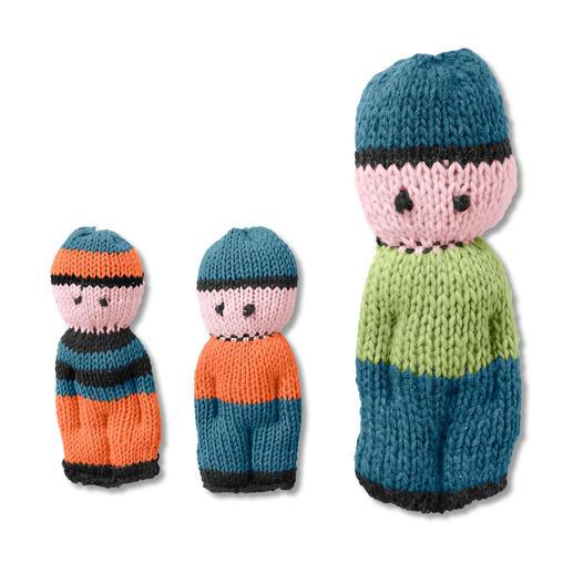 Anleitung 335/9, Kleine Püppchen aus Merino-Cotton oder große Puppen aus Canoso von Junghans-Wolle