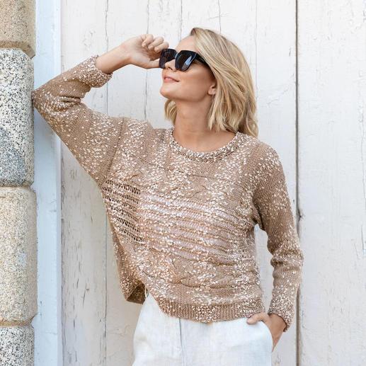 Anleitung 346/9, Pullover aus Malibu Plus von Katia