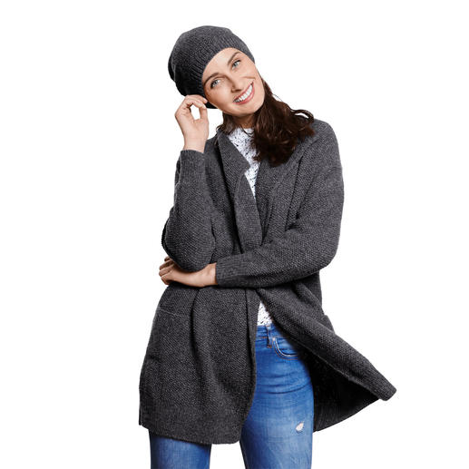 Anleitung 352/9, Damen Mantel und Mütze aus Como von Lamana