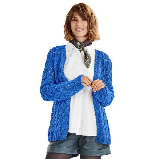 Anleitung 383/9, Jacke aus Peru von Junghans-Wolle