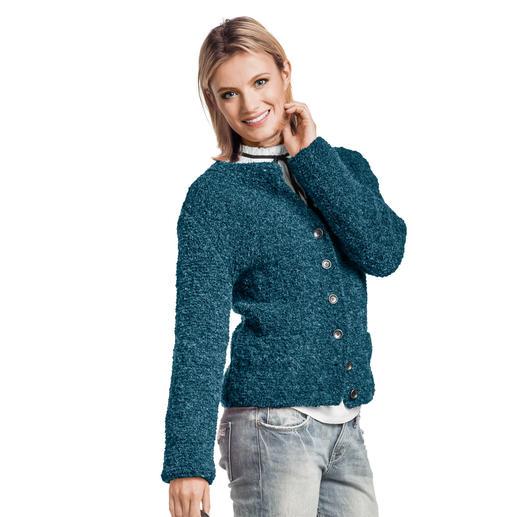 Anleitung 390/9, Damen Jacke aus Nordland® von Junghans-Wolle