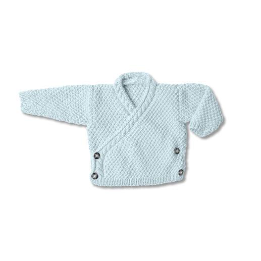 Anleitung 436/8, Babyjacke aus Baby Dream dk Uni von Rico Design