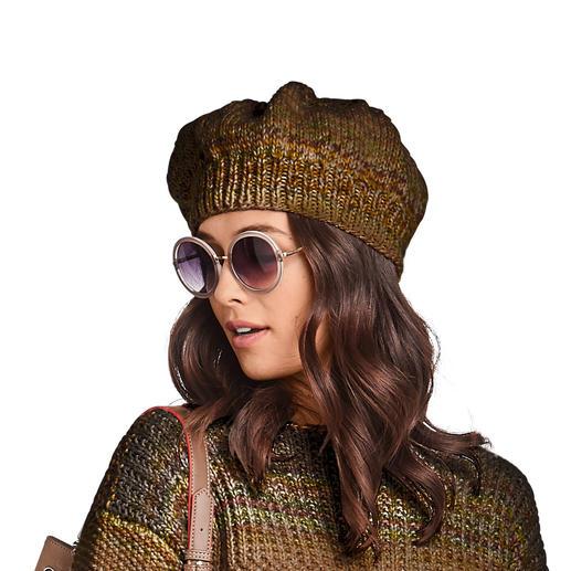 Anleitung 469/9, Baskenmütze aus Monello-90 Color von Junghans-Wolle