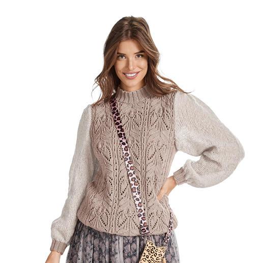 Anleitung 012/0, Pullover aus Merino-Extrafein und Aerea von Junghans-Wolle
