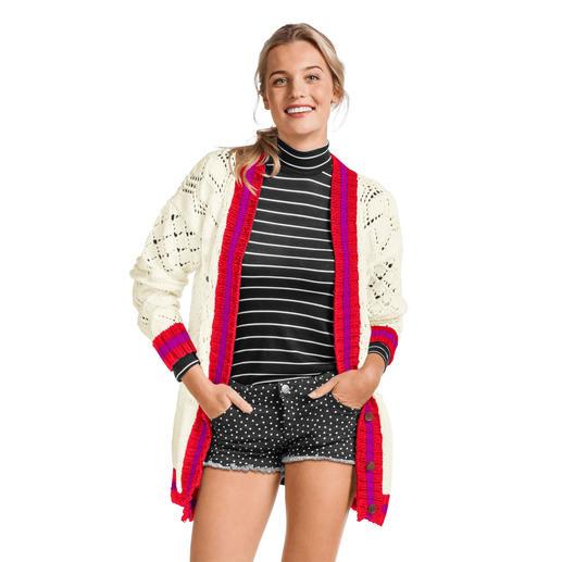 Anleitung 059/0, Damenjacke aus Cotonara von Junghans-Wolle