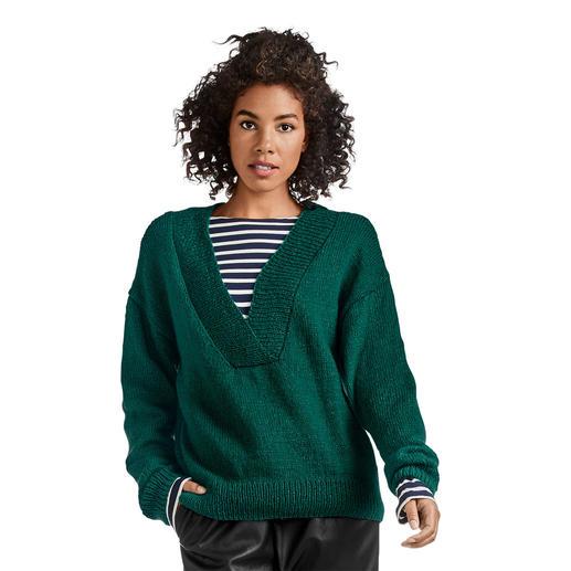 Anleitung 078/0, Pullover aus Melina von Junghans-Wolle