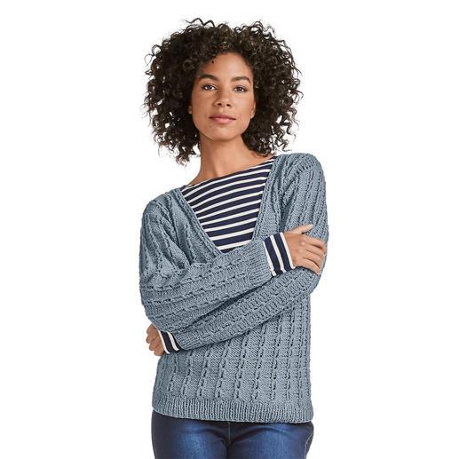 Anleitung 103/0, Pullover aus Ribolli von Junghans-Wolle