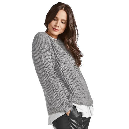 Anleitung 114/0, Pullover aus Onda von Junghans-Wolle