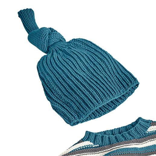 Anleitung 132/0, Mütze aus Merino-Cotton von Junghans-Wolle