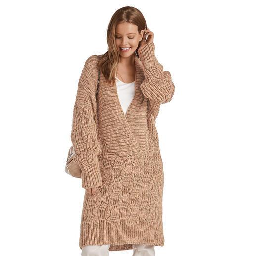 Anleitung 307/0, Oversize Pullover aus Valderamo von Junghans-Wolle