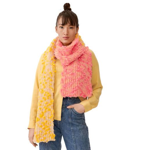 Anleitung 329/0, Schal ca. 30 x 200 cm aus Fashion Alpaca Vibes Aran von Rico Design