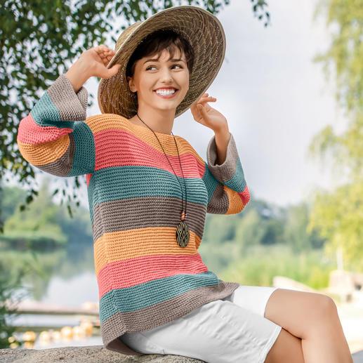 Anleitung 340/0, Pullover aus Cotton Soft Uni von Gründl