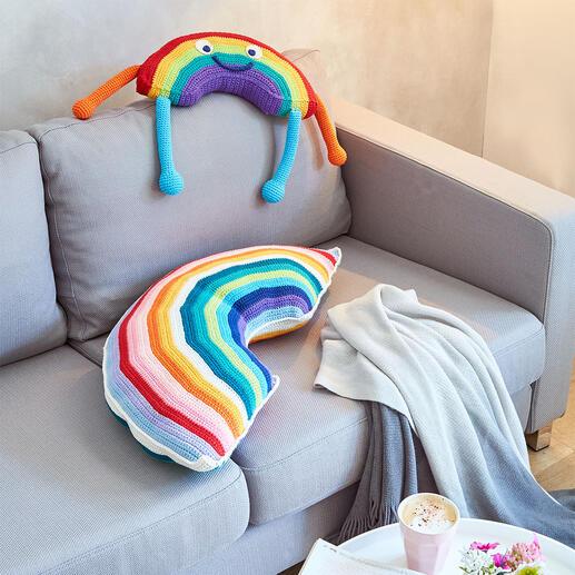 Materialpackung 357/0, Regenbogen-Kissen und -Männlein