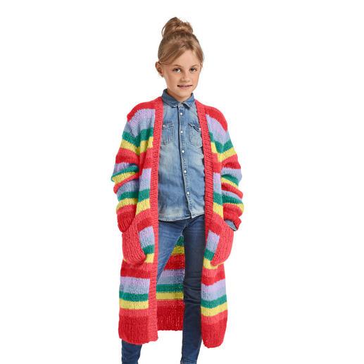 Anleitung 380/0, Kinder-Cardigan, 2-fädig aus Aerea von Junghans-Wolle
