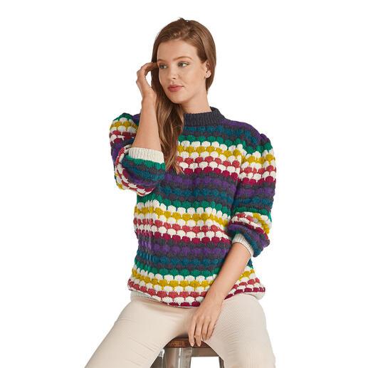 Anleitung 394/0, Pullover aus Katina von Junghans-Wolle