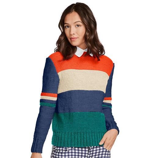 Anleitung 411/0, Pullover aus Monello-175 Uni von Junghans-Wolle