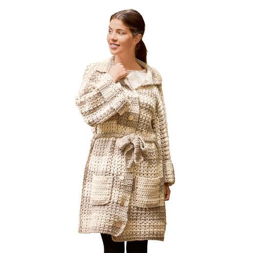 Anleitung 448/0, Häkelmantel aus Easy von Woolly Hugs