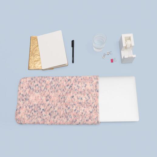 Anleitung 493/0, Strickfilz- oder Häkelfilz-Laptophülle aus Creative Filz Print von Rico Design