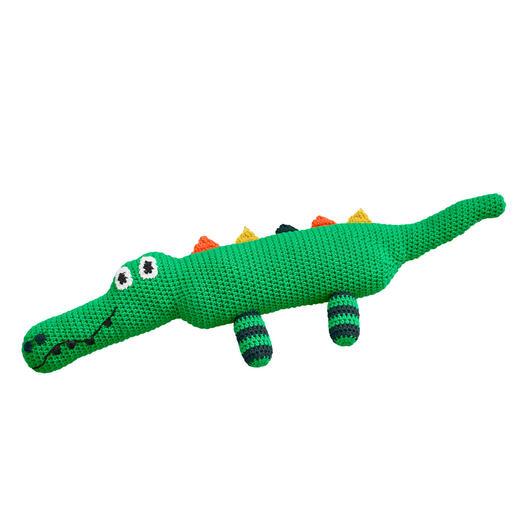 Anleitung 005/1, Krokodil aus Cotonara von Junghans-Wolle