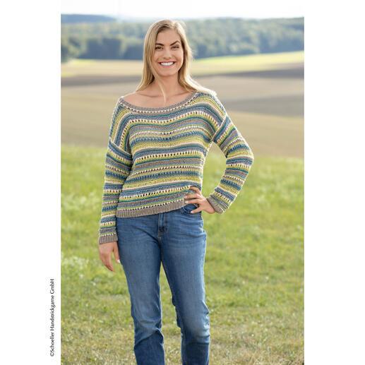 Anleitung 063/1, Pullover aus Cotton Touch Recycled von Austermann®