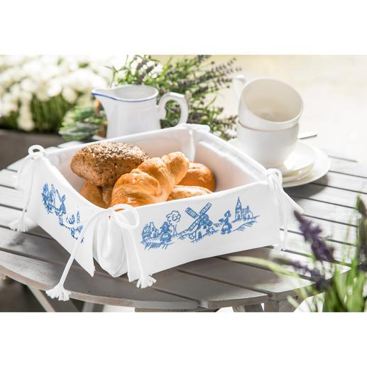 Brotkörbchen - Holländische Mühlen