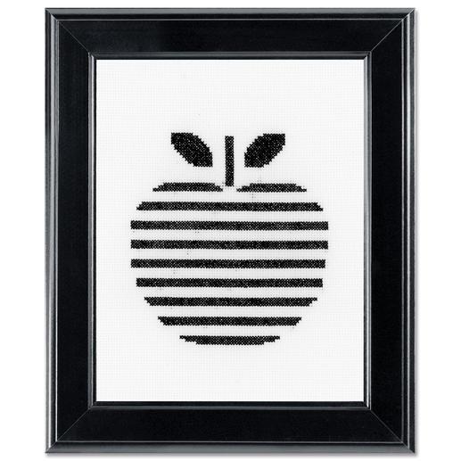 Stickbild - Apfel