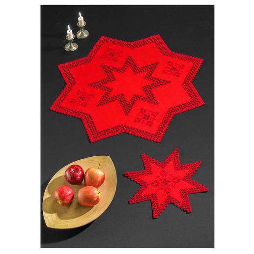 Stern-Decke oder Stern-Deckchen