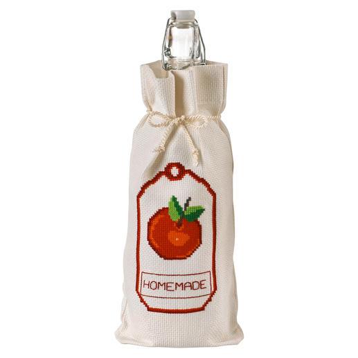Flaschenbeutel - Apfel