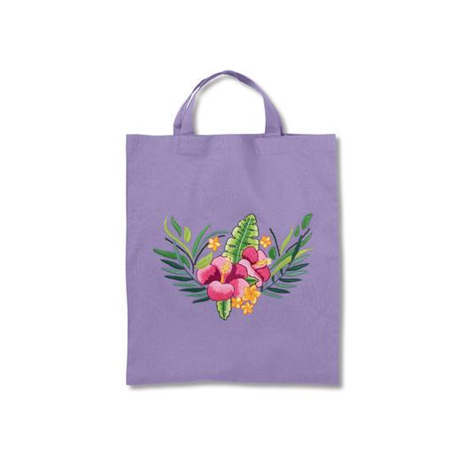 Trendige Baumwolltaschen - Tropical Flower
