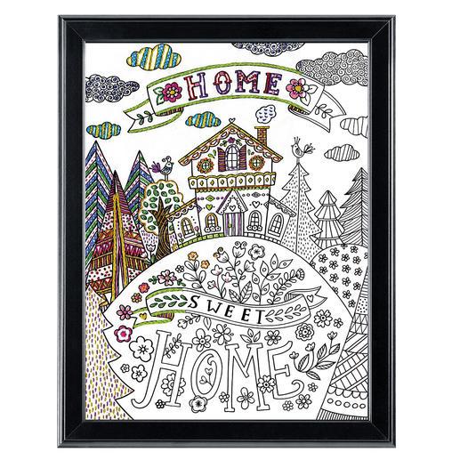 Stickbild Zenbroidery - Home Sweet Home II