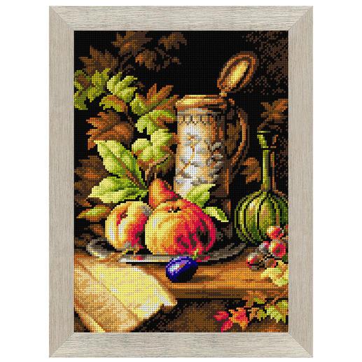 Gobelinbild - Früchte-Stillleben