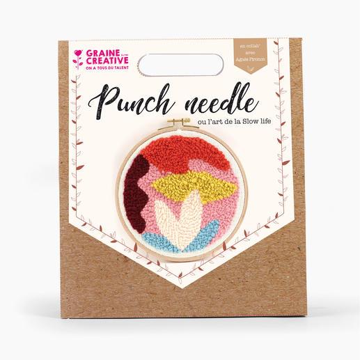 Punch-Needle-Kit - Abstrakt