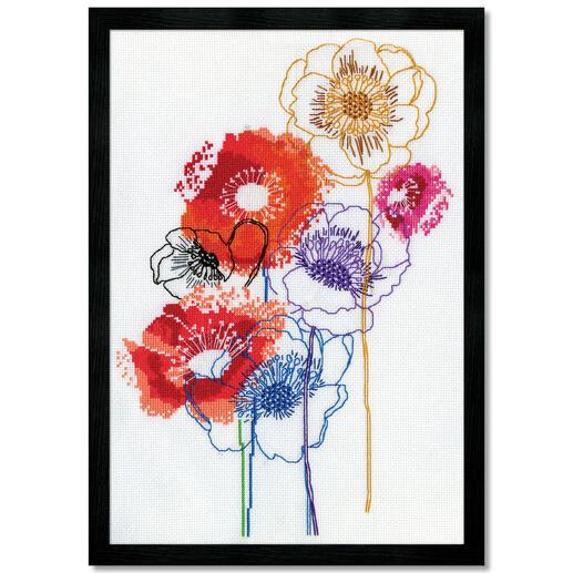 Stickbild - Modern Floral
