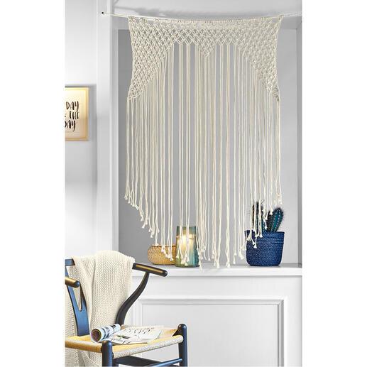 Makramee-Set - Kleiner Vorhang