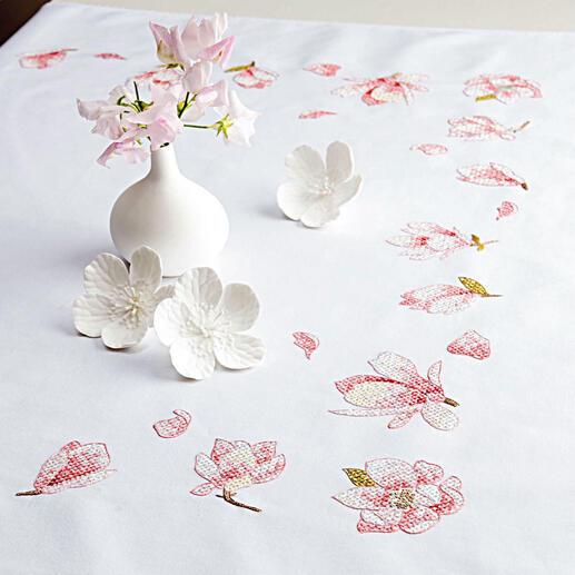 Tischdecke - Magnolien