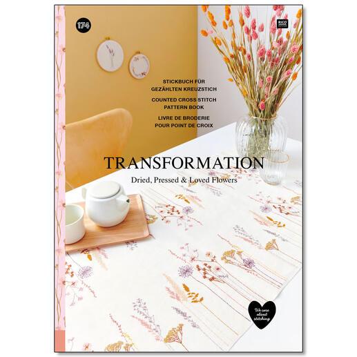 Buch - Nr. 174 - Transformation Stickbuch Nr. 174 - Transformation
