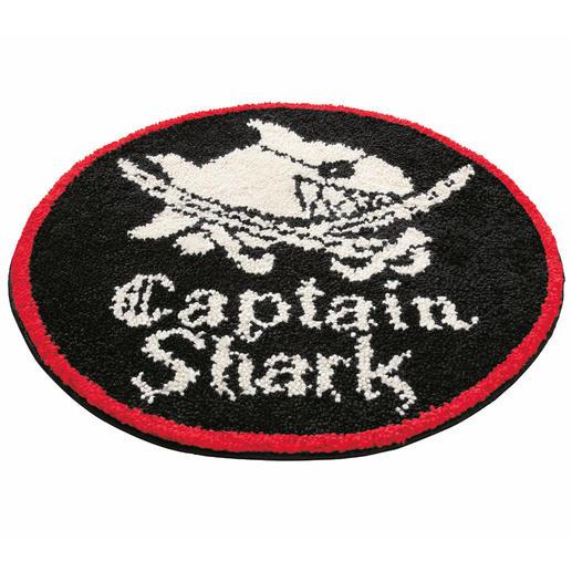 Teppich - Captain Shark