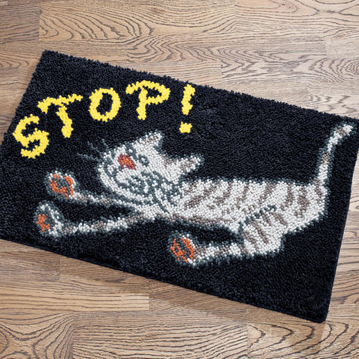 Fußmatte - Stop