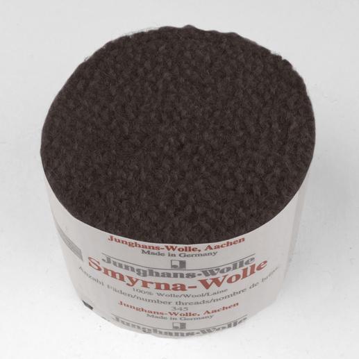 Smyrna-Knüpfpack, 50 g, Kastanie Für Ihre eigenen Entwürfe: hochwertige Junghans-Garne zum Knüpfen
