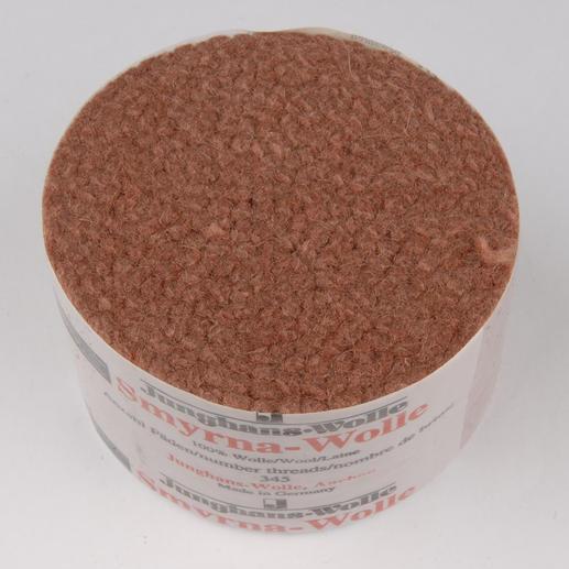 Smyrna-Knüpfpack, 50 g, Kakao Für Ihre eigenen Entwürfe: hochwertige Junghans-Garne zum Knüpfen