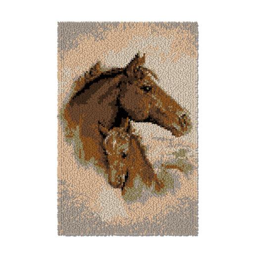 Wandbehang - Pferd mit Fohlen
